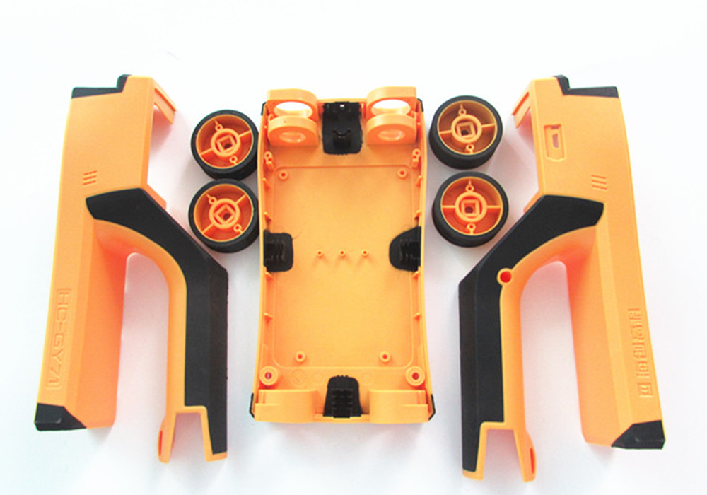 2-color injection molding part