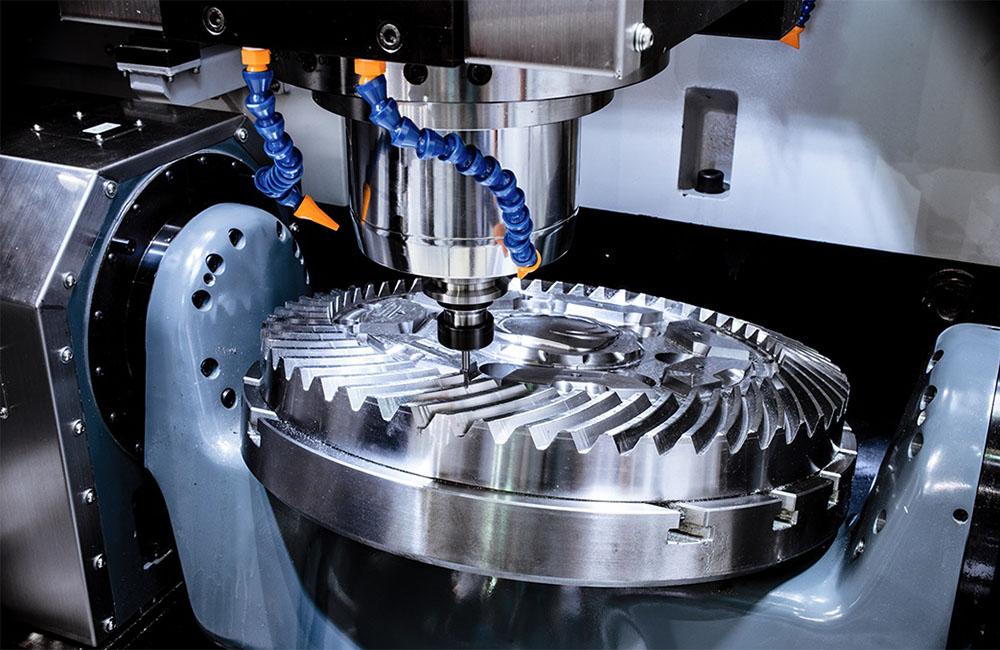 CNC metal milling prototyping service