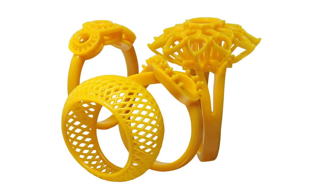 3d printed jewelry model